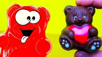 Желейный медведь валера и день св. Валентина
