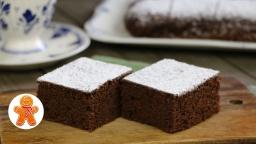 Пирог с гречневой мукой и какао (постный) |Рецепт