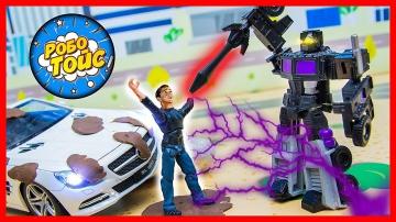 Мультик про машинки на Автомойке. Видео Трансформеры против Десептиконов. Игры с игрушками для детей