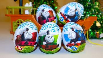 Киндер Сюрпризы Игрушки для детей Томас и его друзья