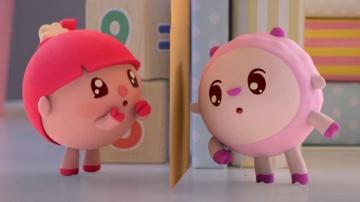 Малышарики  - Гости- серия 54 -  обучающие мультфильмы для малышей 0-4