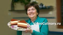 Торт Шоколадный Дуэт - Рецепт Бабушки Эммы