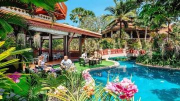 Отели Таиланда Thavorn Beach Village & Spa 5 Пхукет Обзор отеля