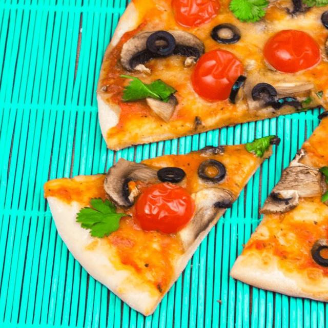 Хрустящая пицца | Рецепт приготовления