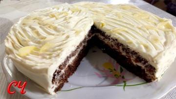 Торт Crazy Cake-очень Шоколадный Совсем Простой