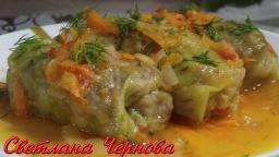 Голубцы.Домашний Рецепт.(Вкусно по -домашнему)Cabbage. Rolls.Home Recipe | Рецепт Светланы Черновой