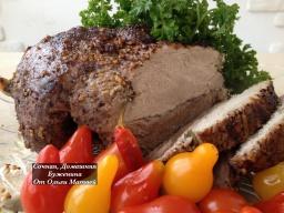 Ольга Матвей  -  Буженина  (Простой рецепт!!!) |  Roasted Meat Recipe