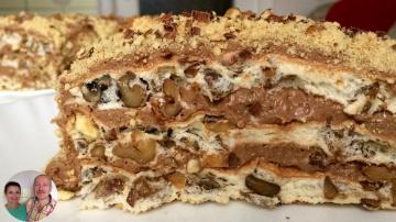 Видео рецепт - Королевский торт