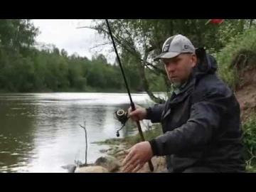 Ловля на Фидер.  Тяжёлый фидер на реке.   Рыбалка с Нормундом Грабовскисом
