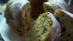Яблочный кекс с орехами и шоколадом | Рецепт Светланы Черновой