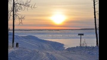 Дороги севера Зимники ХМАО