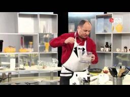 Украинская закуска из сала с чесноком от шеф-повара / Илья Лазерсон / украинская кухня
