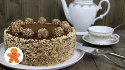 "Ирина Хлебникова. Торт ""Ферреро Роше"" (Ferrero Rocher Cake )"