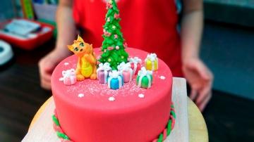 Я ТОРТодел Новогодний торт / Christmas cake - Я - ТОРТодел!