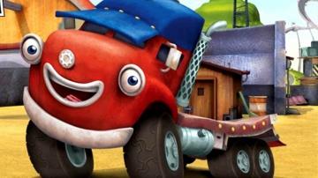 ПРЕМЬЕРА! Трактаун - Новый мультик про машинки - Трудная трасса - Грузовик Джек и его друзья
