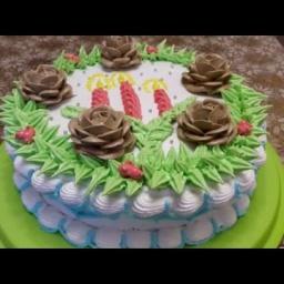 Украшение тортов на Новый Год