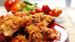 Куриные окорочка в маринаде - Рецепт Бабушки Эммы