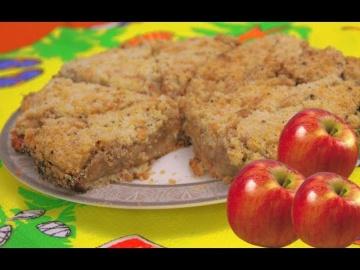 Обалденный Яблочный Пирог Может Приготовить Даже Ребенок