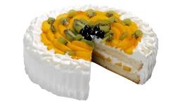 Торт с фруктами со сливочным кремом | Рецепт Ирины Подолян