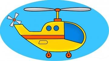 Машинки. Вертолётик - ЛЁТИК. Мультики про машинки. Учим фигуры