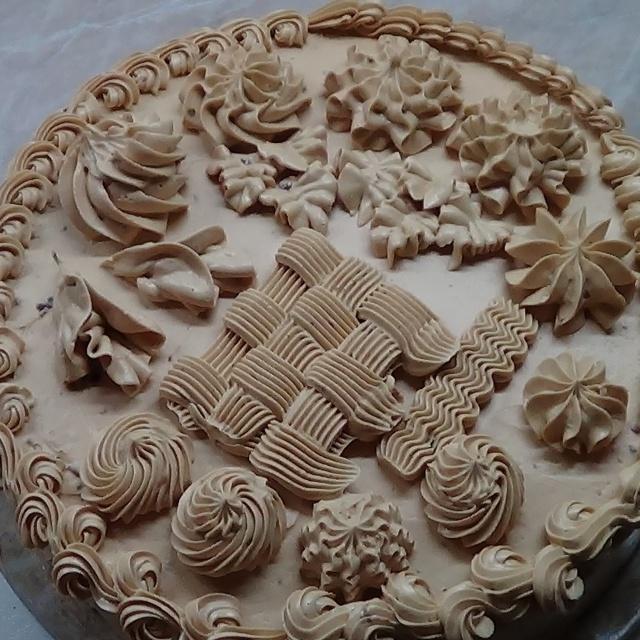 Как украсить торт кремом с помощью кондитерского мешка в домашних условиях