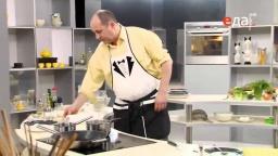 Холодный сметанный соус из соленых огурцов рецепт от Лазерсона