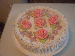 Кремовый торт (3) | Рецепт Маринкины Творинки