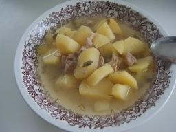 Картошка с тушёнкой | Рецепт Маринкины Творинки