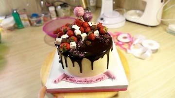 Я ТОРТодел Приготовление и оформление торта шоколадной зеркальной глазурью - Я - ТОРТодел!