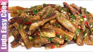 LudaEasyCook Лучшая закуска к шашлыкам на пикник БАКЛАЖАНЫ ПО-КОРЕЙСКИ! | Eggplant Korean Recipe