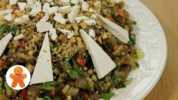 Салат с баклажанами по-гречески | Рецепт Ирины Хлебниковой