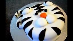 Украшение тортов мастикой. Украшение детских тортов.
