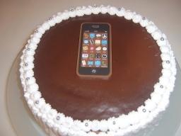Кремовые торты с шоколадными фигурами | Рецепт Маринкины Творинки