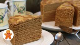 """Ирина Хлебникова - Медовый торт """"Коровка"""""""