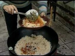 Ханкишиев Бухарский плов с изюмом и тыквой - Видео рецепт
