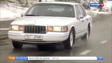 Lincoln Town Car 2 1989 года.Видео обзор.Тест драйв.