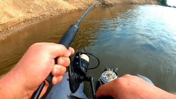 р. Ахтуба. Идеальная рыбалка. Ловля щуки, судака с лодки на джиг.  День первый.