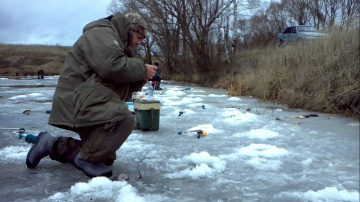 Зимняя рыбалка на карася и карпа