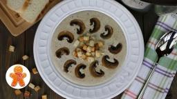 Ирина Хлебникова -  Крем-суп из шампиньонов, просто и очень вкусно рецепт