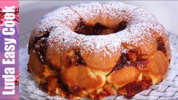 Позитивная Кухня Особенный пирог на кефире с яблоками и корицей