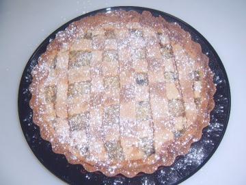 Маринкины Творинки Пирог с яблоками и лимоном