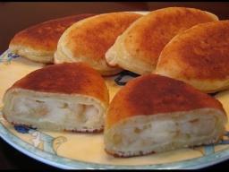 Жареные творожные пирожки с яблоками |Рецепт