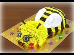 Торт пчелка мастер класс Кремовые торты для детей