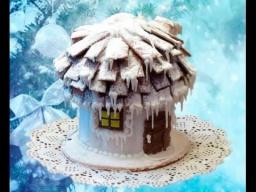 Пряничный домик (избушка)   Рецепт Ирины Хлебниковой