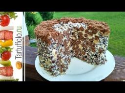 Хрустящий Торт без Выпечки за 2 минуты | Рецепт Алены Митрофановой
