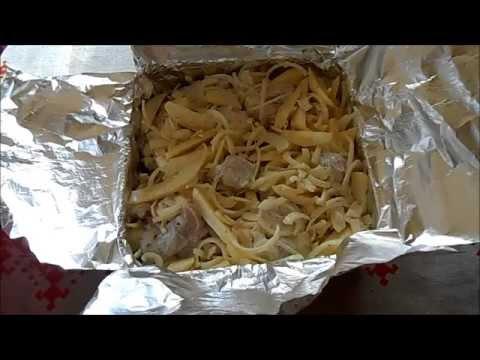 Рецепт - Свинина с картошкой в духовке