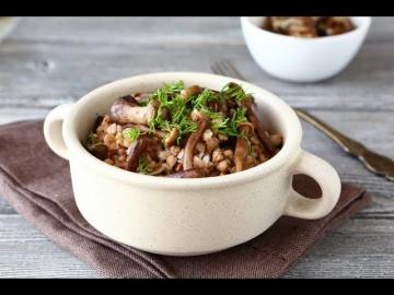 Гречневая каша с грибами по-восточному рецепты от шеф-повара Лазерсона