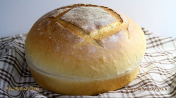 Белый ХЛЕБ рецепт  ТЕСТО для хлеба в духовке - White Bread Recipes LudaEasyCook