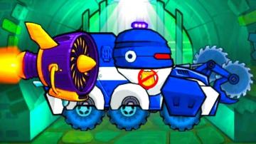 Car Eats Car 3 Машина ест машину - Хищные машины. #Машинки мультик игра Детский летсплей #игровой