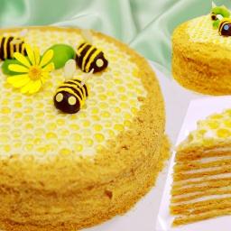 Видео рецепт - Самый вкусный Торт Медовик